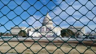 Wenn sich die US-Hauptstadt in eine Festung verwandelt
