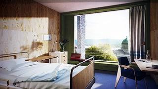 Einzelzimmer im Spital sind bald kein Luxus mehr