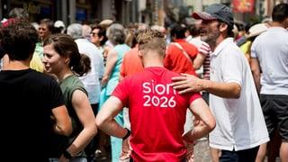 Das Wallis will keine Olympischen Spiele