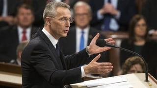 Stoltenberg: «Werden die Nato künftig noch mehr brauchen»