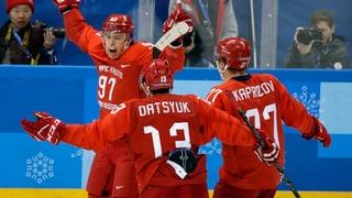 Team Russland gewinnt spektakulären Eishockeyfinal