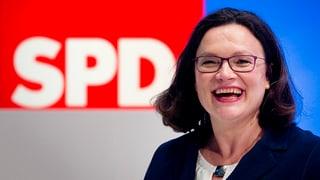 Germania: Andrea Nahles è nova scheffa da la SPD