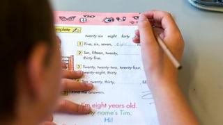 Umstrittener Fremdsprachenunterricht an Primarschulen
