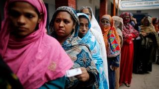 Gewalt überschattet die Wahl in Bangladesch
