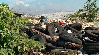 Eine Malediven-Insel versinkt – im Müll