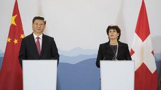 President chinais Xi Jinping en Svizra