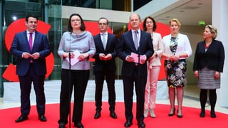 Das sind die SPD-Minister in der neuen Merkel-Regierung