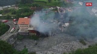 Grond incendi a Tusaun