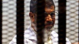 Ägyptens Ex-Präsident Mursi zum Tod verurteilt