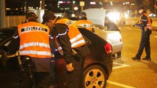 Verkehrsbehinderungen wegen Polizei-Protestaktion in Basel