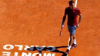 Era Federer out a Monte Carlo