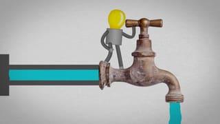Video «Strom: Das Ohmsche Gesetz (2/8)» abspielen