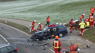 Mehr Tote, weniger Unfälle auf St. Galler Strassen