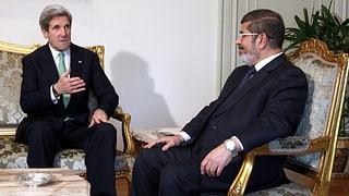 Ägypten: US-Aussenminister trifft Mursi