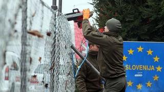 Slovenia restrenscha entrada da fugitivs