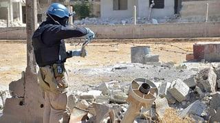Syrien: Mindestens fünf Angriffe mit Giftgas
