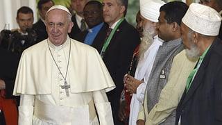 Papst ruft in Kenia zum gemeinsamen Kampf gegen Extremismus auf