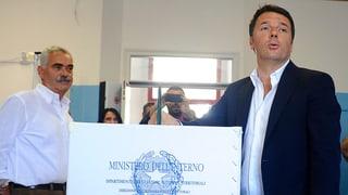 Dämpfer für Renzi bei italienischen Regionalwahlen