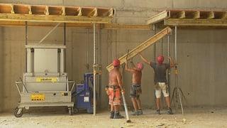 Ältere Bauarbeiter riskieren ihre Gesundheit