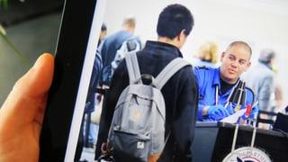 Einreise in die USA: Pass und Facebook-Profil, bitte!