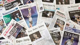Öffentliche Gelder für Zeitungen