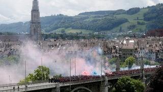 Kanton Bern stimmt über Verschärfung des Hooligan-Konkordats ab