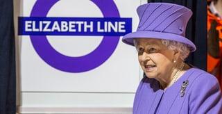«Lizzie Line»: Die Queen ist jetzt auch eine U-Bahn