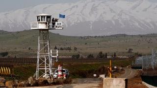 Syrische Rebellen nehmen mehrere Blauhelme als Geiseln