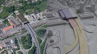 Bypass: Kriens bringt neuen Tunnel ins Spiel
