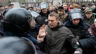 Moskau: Prominente Kremlkritiker abgeführt
