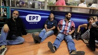 Empörter Aufschrei der privaten Medien in Griechenland