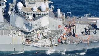 Sieben Tote bei Unglück mit US-Kriegsschiff