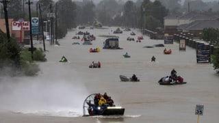 «Harvey» setzt auch Louisiana unter Wasser
