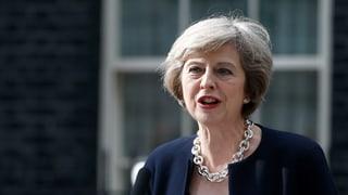 Wie Theresa May politische Gräben zuschütten will