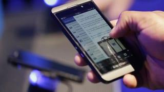 Blackberry überrascht mit Gewinn