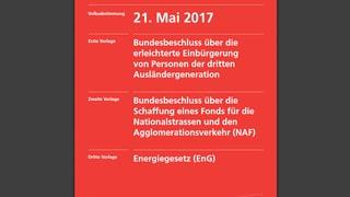 Il cudeschet da votaziuns federalas vegn modernisà