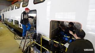 Bombardier liefert im Sommer die ersten «Twindexx»-Züge aus