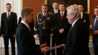 Präsident will Babiš zum Premier ernennen