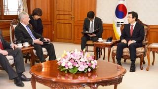 US-Verteidigungsminister sichert Südkorea Schutz zu