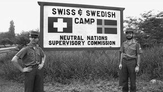 Die Schweiz seit 60 Jahren im koreanischen Niemandsland