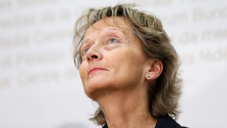 Das Schweigen der Eveline Widmer-Schlumpf