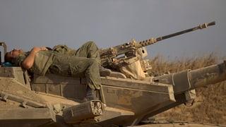 Gazastreifen: Truppenabzug Israels und dreitägige Waffenruhe
