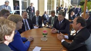 Ukraine-Gipfel in Paris: Die Hürden sind riesig