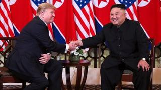 Trump und Kim wollen gemeinsame Erklärung unterzeichnen