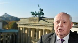 Gorbatschow warnt in Berlin vor «neuer Mauer»