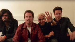Unsere 8x15.-Bands schicken Videogrüsse - sogar aus London!