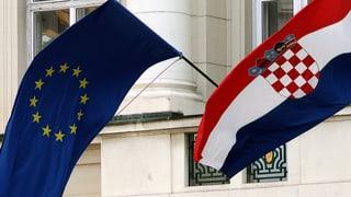 Krisenstaat Kroatien ist nun Teil der EU