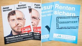 Wenige Kantone dürften über das Schicksal der Rentenreform 2020 entscheiden – besonders die Bürger von Baselland. Bringen sie die Rentenreform zu Fall?