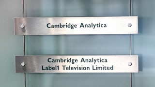 Cambridge Analytica macht dicht