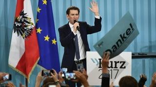 Elecziuns en Austria – Kurz a la testa